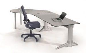 Höhenverstellbarer Tisch go2move