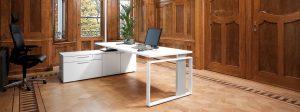 iMOVE-F Höhenverstellbarer Schreibtisch Büro Einrichtungen