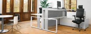 iMOVE-F Höhenverstellbarer Schreibtisch als Steharbeitsplatz