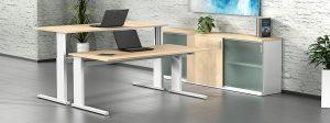 iMOVE-S Höhenverstellbarer Schreibtisch