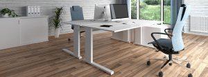 iMOVE-S Höhenverstellbarer Schreibtisch mit ergonomischer Bürostuhl