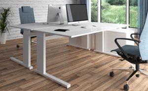iMOVE-S - höhenverstellbarer Schreibtisch