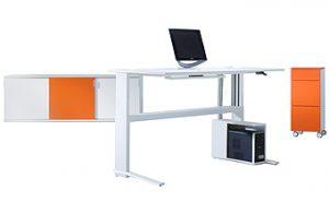 Kabelmanagement der ergonomischen Büromöbel von LEUWICO