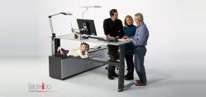 Leuwico Büroeinrichter - Höhenverstellbare Schreibtische
