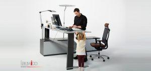 Leuwico - Höhenverstellbare Schreibtische büromöbel