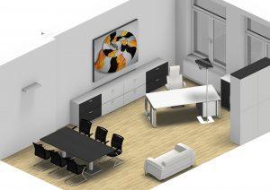 Leuwico - Büroplanung und Bürokonzept mit Bürobeleuchtung