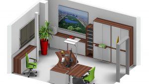 Leuwico - Büroplanung und Bürokonzept in Einzelbüro