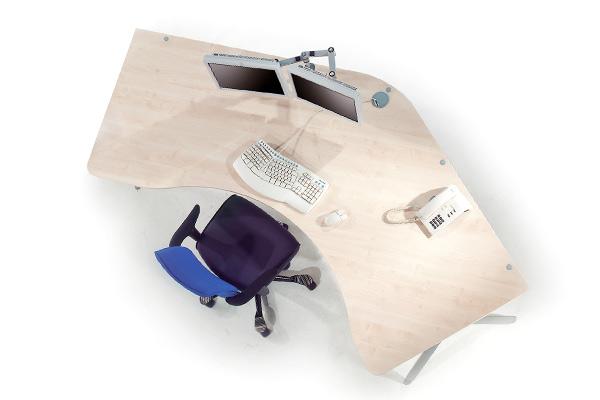 GO²Shape von LEUWICO - klassische Büro Schreibtische