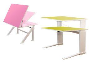 Höhenverstellbare Schreibtische für Kinder - LEUWICO Österreich
