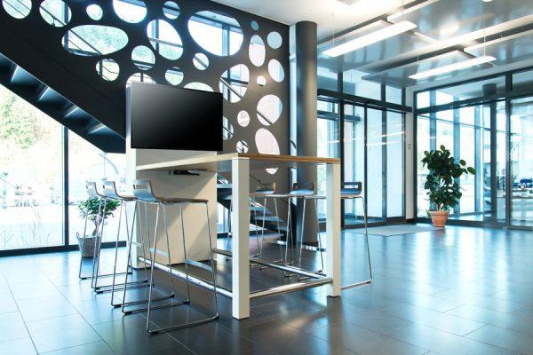 Lounge Bereich im Büro - LEUWICO Österreich