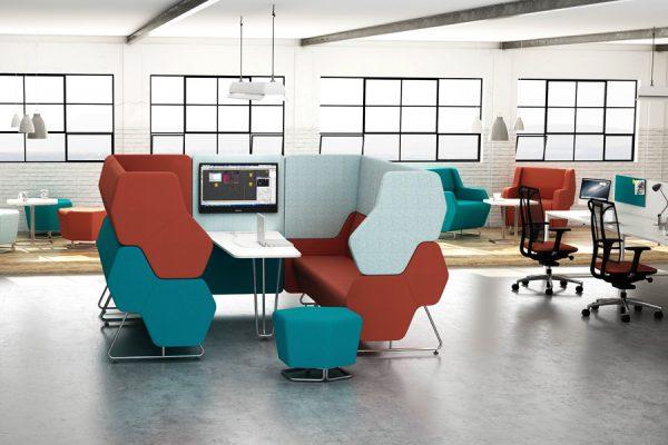 Hochwertige Design Möbel für Büro Lounge Einrichtung