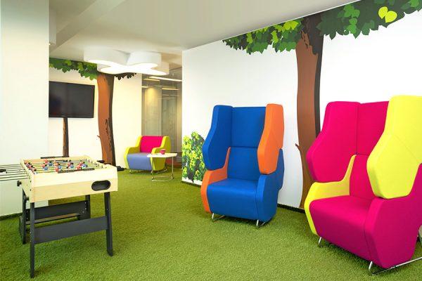 Lounge Möbel - Büro Lounge einrichten mit LEUWICO Österreich