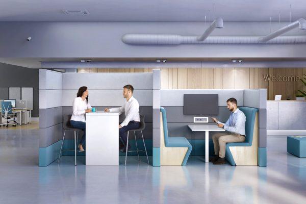 Office Lounge Möbel vom Büroeinrichter LEUWICO