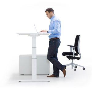 Elektrisch höhenverstellbare Schreibtische für angenehmes Arbeiten - LEUWICO