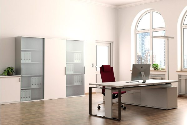 Büro Schrankwand - LEUWICO iScube