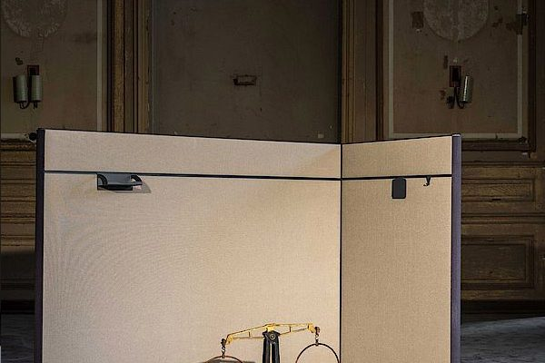 Leuwico-Akustik-Stellwand