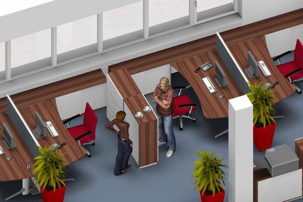 Bürogestaltung - LEUWICO Österreich