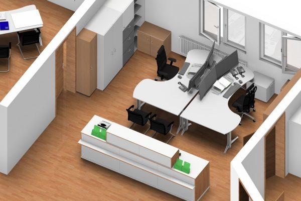 Bürogestaltung & Planung von LEUWICO Österreich