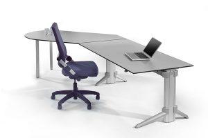 Steh Sitz Schreibtische von LEUWICO Österreich