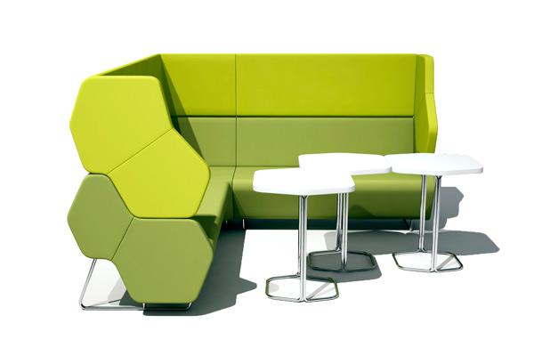 Büro einrichten mit Lounge Möbeln von LEUWICO